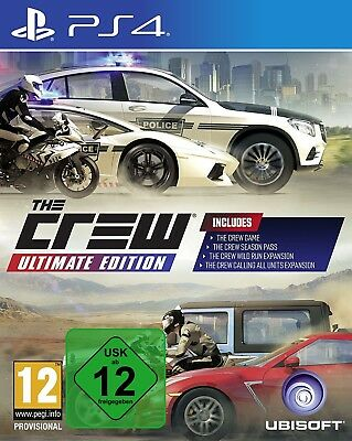 The Crew Ultimate Edition - PS4 Playstation 4 Rennspiel - NEU OVP