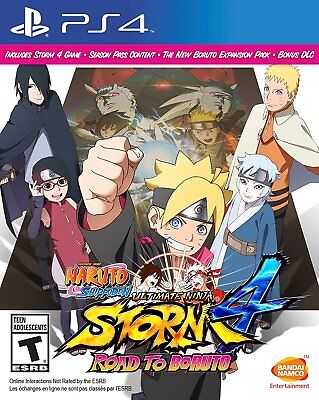 Naruto Shippuden: Ultimate Ninja Storm 4 -- Road to Boruto (PlayStation 4) NEW for sale  Shipping to Canada