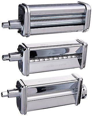 KitchenAid KPRA Pasta Roller Fettuccine Spaghetti Cutter Stand Mixer Attachment