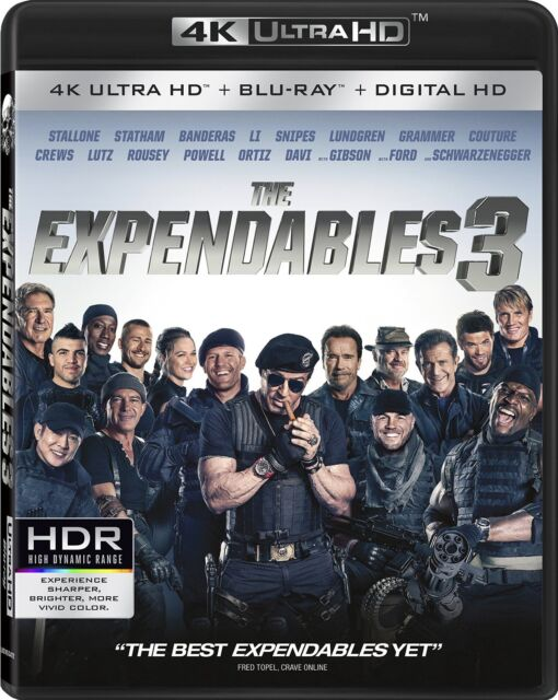 The Expendables 3 (4K Ultra HD)(UHD)(Atmos)