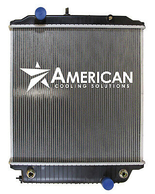 New Radiator for 2003-2006 Bluebird Vision School Bus with Isolator Pads ()