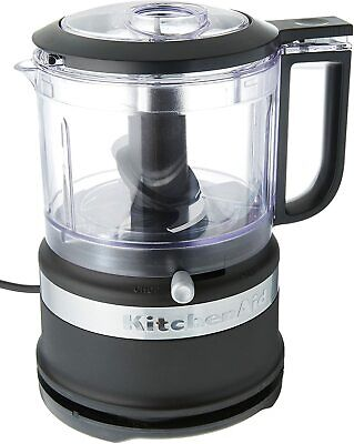 KitchenAid KFC3516BM 3.5-Cup Food Chopper, medium, Matte Black