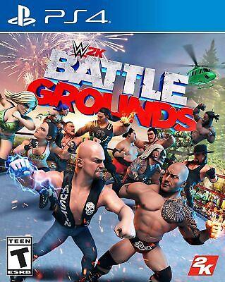 WWE 2K Battlegrounds ( PlayStation 4 / PS4 )