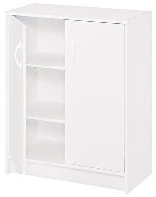 Storage Cabinet Kitchen Pantry Organizer Furniture Bathroom Cupboard Shelf New