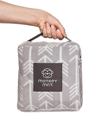 Original Plush Monkey Mat 5 X 5 Ultra Compact Soft Waterproof Blanket New