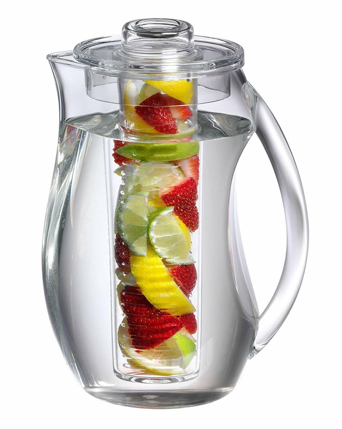 Prodyne FI-3 Fruit Infusion Flavor Pitcher water clear tea i