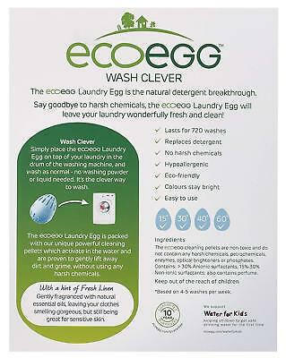 Ecoegg Eco Friendly Laundry Egg Allergy UK  210 Washes Washing - Fragrance Free