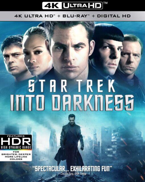 STAR TREK : INTO DARKNESS (4K ULTRA HD) -  Blu Ray - Sealed Region free