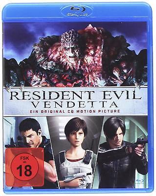 Blu-ray * RESIDENT EVIL  VENDETTA - Animation ~ FSK 18 # NEU OVP (Zombie Animation)