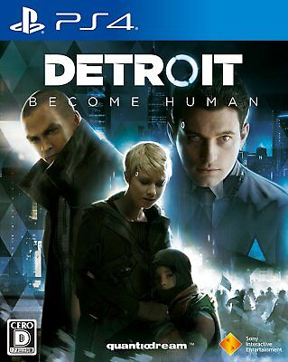 New Ps4 Detroit Become Human Japan Sony Playstation 4 Import Japanese Game