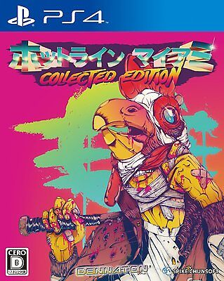 Used PS4 Hotline Miami Collected Edition Japan Import Official Free Shipping