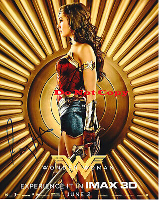 Patty Jenkins Wonder Woman Director Proof Signed 8X10 Autographed Rp