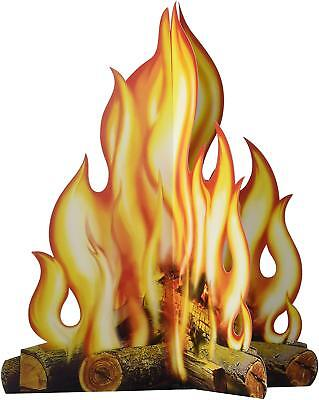 Beistle 57322 3D Campfire Centerpiece, 12-Inch](Campfire Centerpiece)