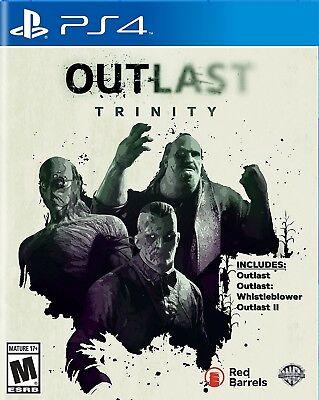 Outlast Trinity (Sony PlayStation 4, 2017)