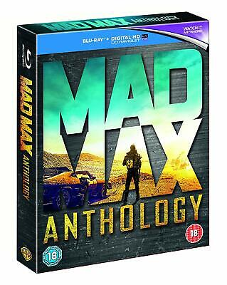 Mad Max Anthology [Blu-ray Box Set Region Free 4-Movies Road Warrior Fury Road] comprar usado  Enviando para Brazil