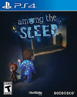 $27.68 - Among the Sleep - PlayStation 4 Brand New Ps4 Games Sony Factory Sealed