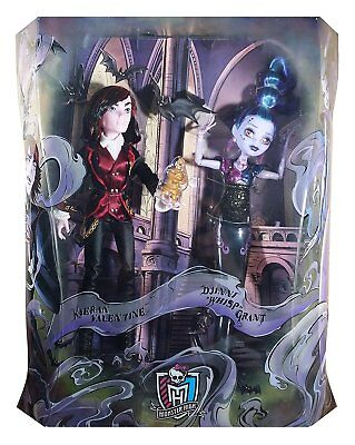 SDCC 2015 Monster High Kieran Valentine & Djinni Whisp Grant 2 Pack Exclusive LE - Monster High Whisp