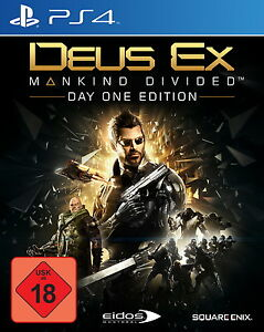 Deus Ex: Mankind Divided - Day One Edition (Sony PlayStation 4, 2016) - Deutschland - Deus Ex: Mankind Divided - Day One Edition (Sony PlayStation 4, 2016) - Deutschland