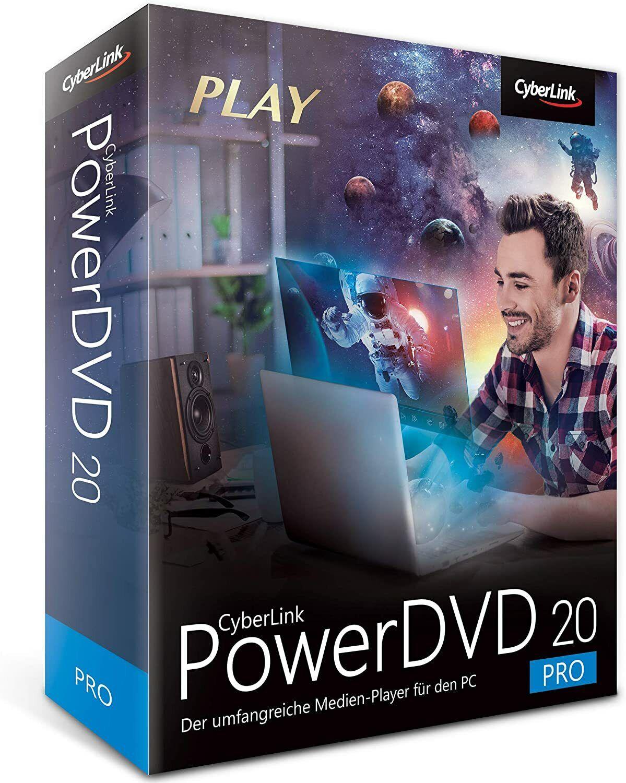 Cyberlink PowerDVD 20 PRO DVD Nr. 1 Film & Medienplayer EAN 4718009202757