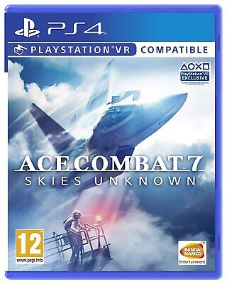 Ace Combat 7 Skies Unknown PS4 Brand New Factory Sealed PlayStation VR