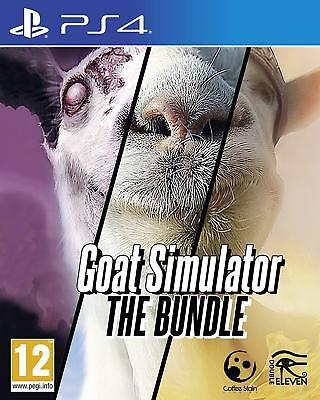 Goat Simulator The Bundle PS4 PlayStation 4 Brand New Sealed GoatZ & MMO Sim