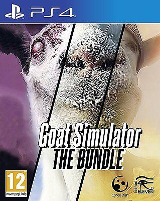 Goat Simulator  The Bundle  Playstation 4 Ps4  Animal   Goatz   Mmo Add Ons  New
