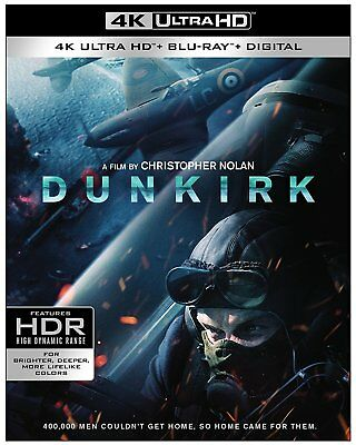 Dunkirk 4K  Used  Blu Ray    No Cover Art  No Case