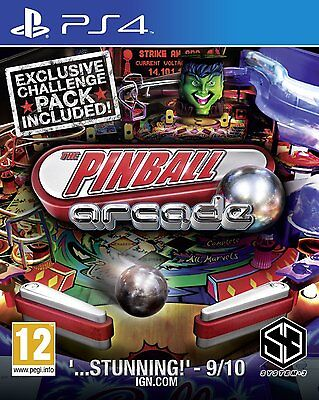 Pinball Arcade For PS4 (New & Sealed)