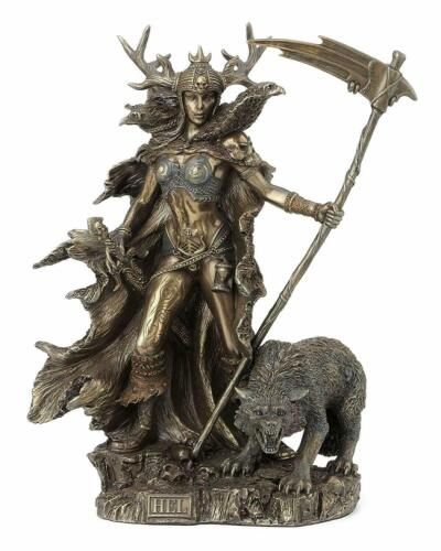 Hel Norse Goddess of the Underworld Statue Sculpture Collectible **MINT