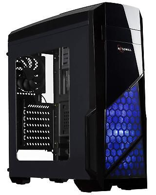 ROSEWILL NAUTILUS GAMING ATX Mid Tower Computer Case up to 380 mm long VGA Card