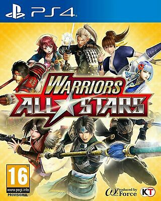Warriors All Stars PS4 PlayStation