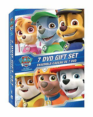 PAW Patrol: 7 DVD Gift Set [DVD Box Set, Childrens TV, Puppies, Marshall, Rocky]