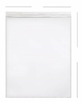 100- 10x13 Zip Lock 2 Mil Reclosable Resealable Clear Ziplock Plastic Poly Bags