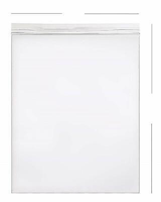 10- 20x24 Zip Lock 2 Mil Reclosable Resealable Clear Ziplock Plastic Poly Bags