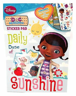 s Sticker Pad 30 Stickers 7 Scenes Creative Kids Activity (Doc Mcstuffins Sticker)