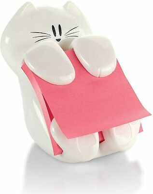 Post-it Pop-up Note Dispenser Cat Design Hold 3 X 3 Sticky Notes 45 Sheets