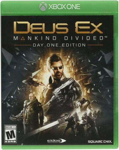Deus Ex: Mankind Divided Day One Edition Xbox One 91635