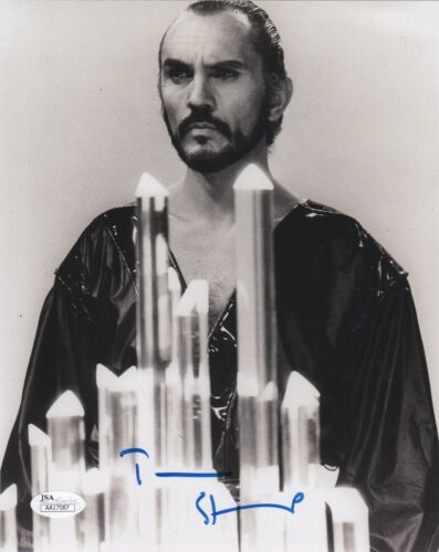 Terence Stamp Superman Autographed Signed 8x10 Photo JSA COA #1