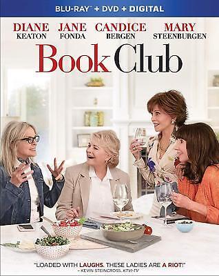 Book Club (Blu-ray + DVD + Digital, 2018) w/ SLIP COVER ***FREE SHIPPING***