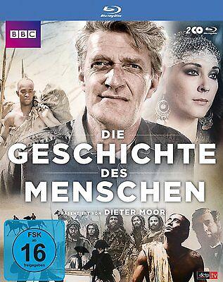 Die Geschichte des Menschen - BBC Produktion - 2 Blu Ray