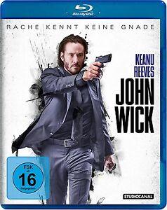 Keanu-Reeves-JOHN-WICK-Willem-Dafoe-RACHE-SABE-KEINE-GNADE-BLU-RAY-Nuevo