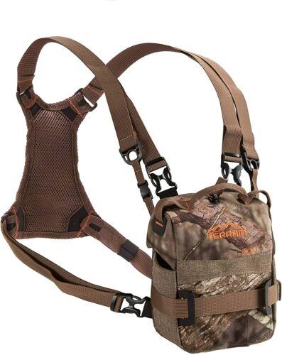 Hunters Binocular Case Chest Pack Bino Storage Camo Hunting Bird Watching Hiking