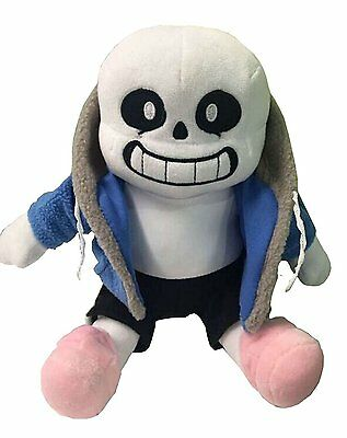 Soft Stuffed Animals (Undertale Sans Plush Stuffed Doll Toy Hugger Gift Cushion Cosplay Kids Soft)