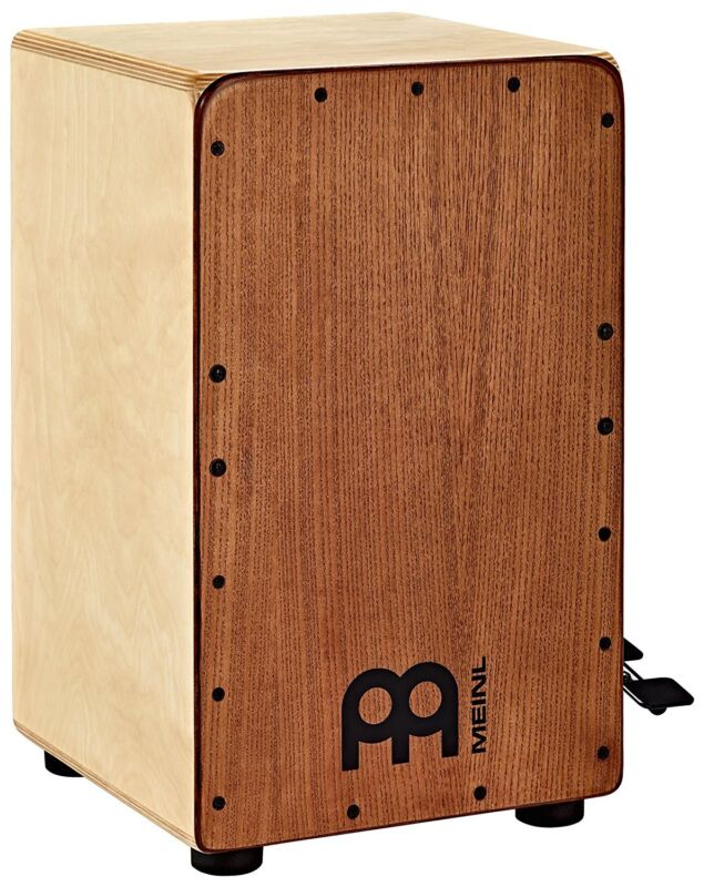 MEINL SCP100AWA Woodcraft Professional Cajon Birch Drum, White Ash
