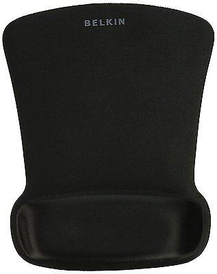 Belkin WaveRest Series Gel Mouse Pad, Mouse Pad with Wrist Rest F8E262-BLK ()