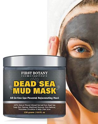 BEST Dead Sea Mud Mask Natural Cleanser Acne Pore Blackhead Anti-Aging