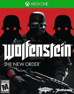 XBOX ONE WOLFENSTEIN THE NEW ORDER BRAND NEW VIDEO GAME