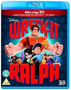 Wreck It Ralph 3D Blu Ray