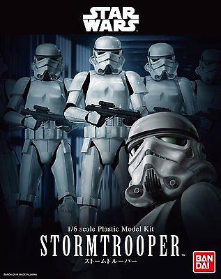 Star Wars Model Kit Stormtrooper 1/6  Bandai Japan NEW ***