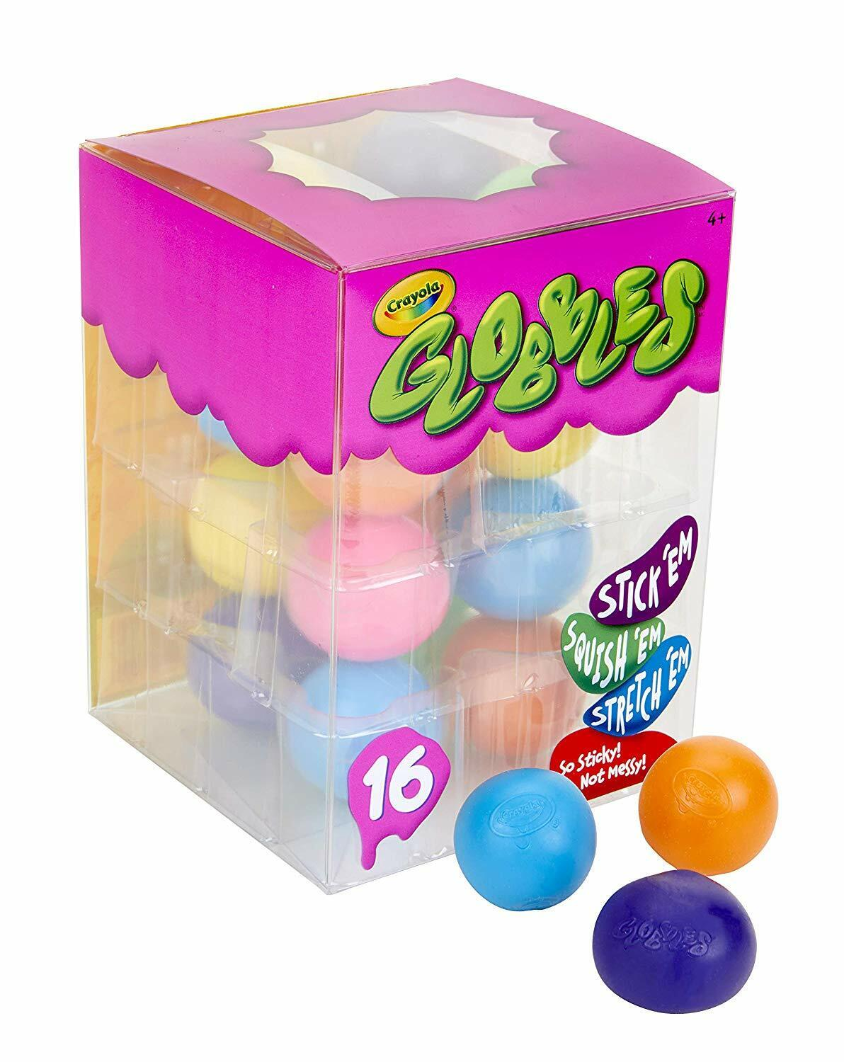 Crayola Globbles 16Count, Squish & Fidget Toys, Gift for Kid